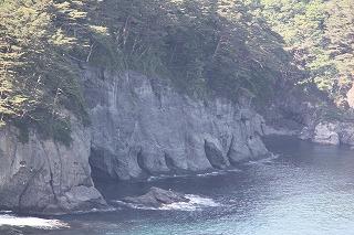 蛸の浜海食洞門1