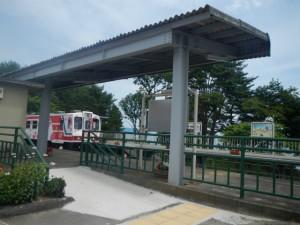 キロポスト8付近野田玉川駅 (3)
