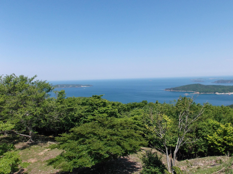 女川湾と島々