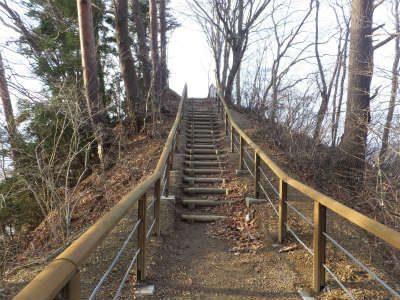 【宮古湾一望コースに階段が整備されました!】 | 浄土ヶ浜ビジターセンター
